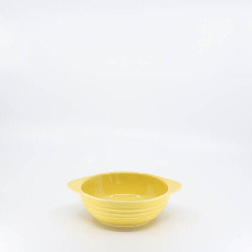 Pacific Pottery Hostessware 37 Onion Soup Bowl Yellow
