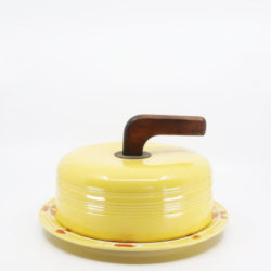 Pacific Hostessware 416 Cheese Cover Yellow