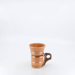 Pacific Hostessware 411 Tumbler Apricot (early)