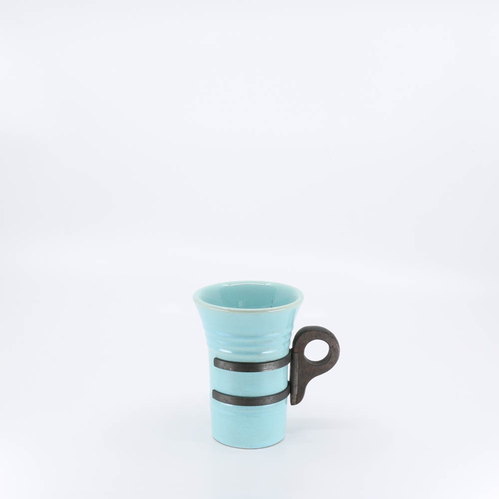 Pacific Pottery Hostessware 411 Tumbler Aqua