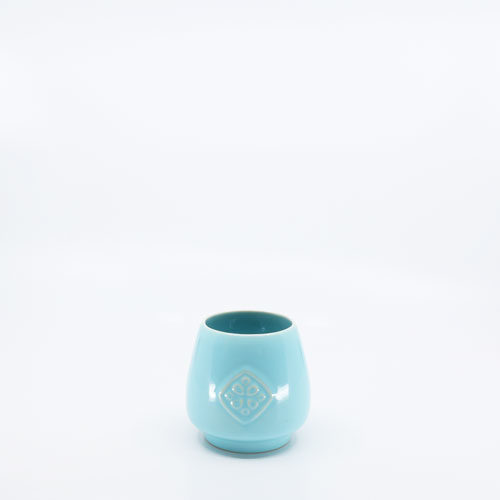 Pacific Pottery Hostessware 418 Antique Tumbler Aqua
