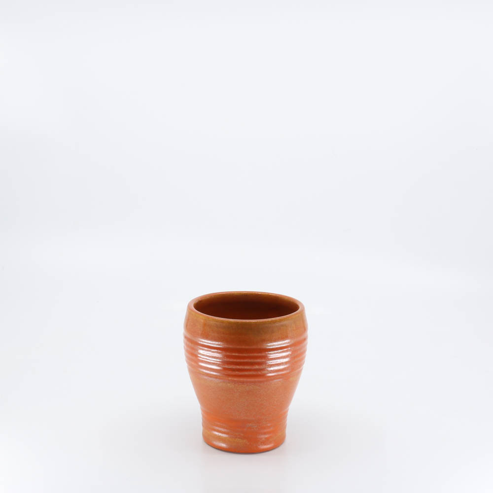 Pacific Pottery Hostessware 431 Barrel Tumbler Red
