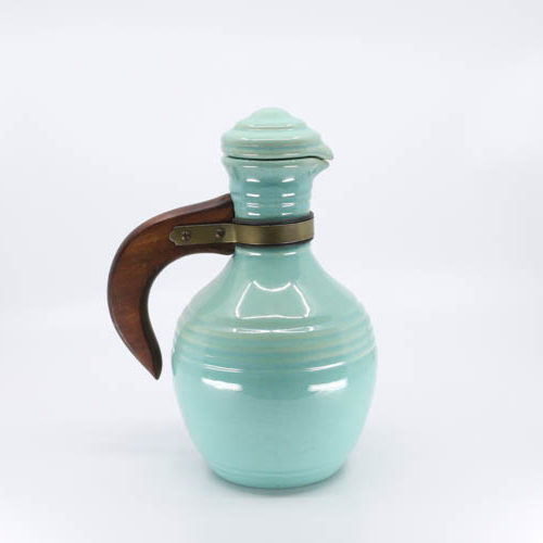 Pacific Pottery Hostessware 445 Carafe Green