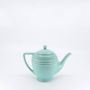 Pacific Pottery Hostessware 446 Teapot Green