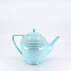Pacific Hostessware 447 Teapot Aqua