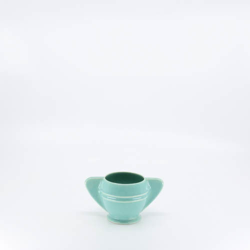 Pacific Pottery Hostessware 450 Demi Sugar Green