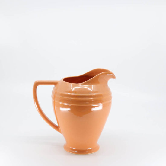 Pacific Pottery Hostessware 459 Restyled Pitcher Apricot (later)