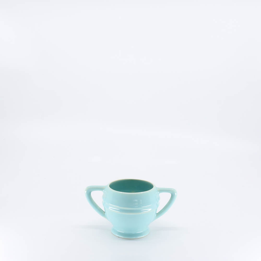 Pacific Pottery Hostessware 461 Restyled Sugar Aqua