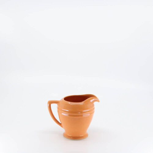 Pacific Pottery Hostessware 464 Restyled Creamer Apricot (later)