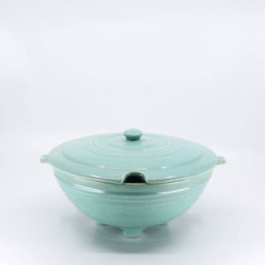 Pacific Pottery Hostessware 604 Tureen Green
