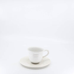 Pacific Hostessware 608-609 Cup and Saucer White