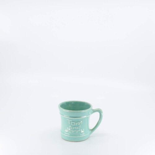Pacific Pottery Hostessware 618 Tom and Jerry Mug Green