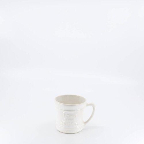 Pacific Pottery Hostessware 618 Tom and Jerry Mug White