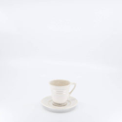 Pacific Hostessware 629-631 Demitasse Cup / Saucer White