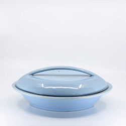 Pacific Hostessware 640 Divided Veg Bowl with Lid Delph