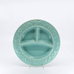 Pacific Hostessware 656 Child's Plate Green