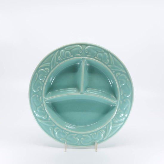Pacific Pottery Hostessware 656 Child's Plate Green