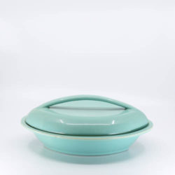 Pacific Hostessware 664 Oval Veg Green