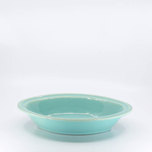 Pacific Pottery Hostessware 664 Oval Veg Green