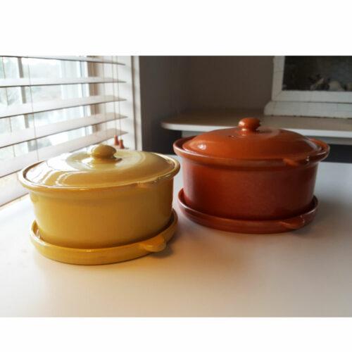 Pacific Pottery Hostessware 201 202 203 204 Casserole Sets