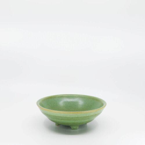 Pacific Pottery Hostessware 315 Pretzel Bowl Early Green