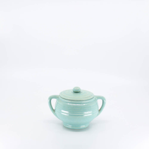 Pacific Pottery Hostessware 403 Sugar Green