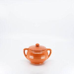 Pacific Pottery Hostessware 403 Sugar Red