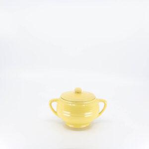 Pacific Pottery Hostessware 403 Sugar Yellow