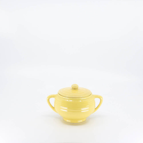 Pacific Pottery Hostessware 403 Sugar Yellow