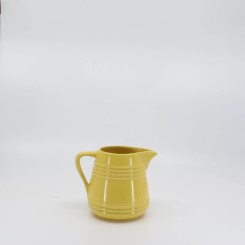 Pacific Pottery Hostessware 428 Pitcher Yellow