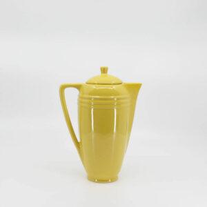 Pacific Pottery Hostessware 442 Demitasse Pot Yellow