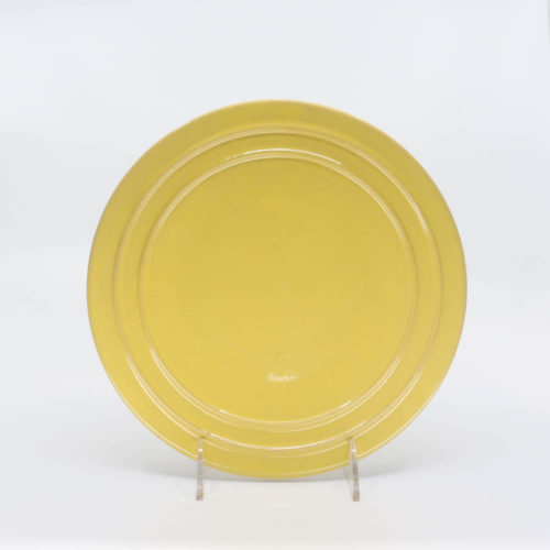 Pacific Pottery Hostessware 611 Lunch Plate Yellow