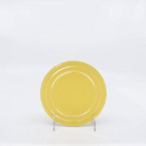 Pacific Pottery Hostessware 614 Bread Plate Yellow