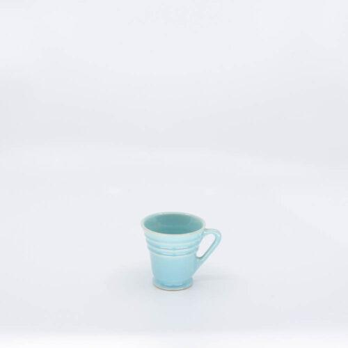 Pacific Pottery Hostessware 629 Demi Cup Aqua
