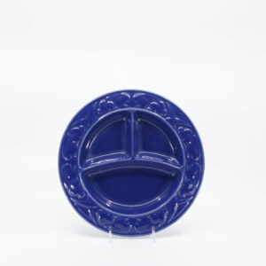 Pacific Pottery Hostessware 656 Child's Plate Pac Blue