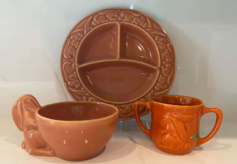 Pacific Pottery Hostessware Children Sets (JS)