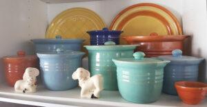 Pacific Pottery Hostessware Condiment Jars