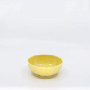 Pacific Pottery Hostessware UNK Bowl Yellow