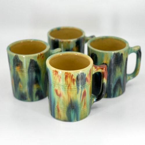 QwkDog Pacific Pottery Hostessware 502 Tankard Mugs Blended