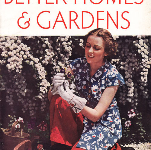 Better Homes May 1938 Cover