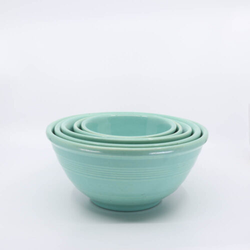 Pacific Pottery Hostessware Mixing Bowl Set Green