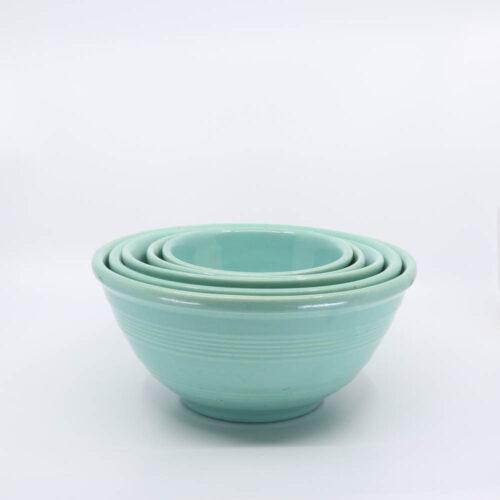 Pacific Pottery Hostessware Mixing Bowl Set Green