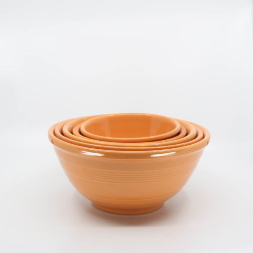 Pacific Pottery Hostessware Mixing Bowl Set Apricot