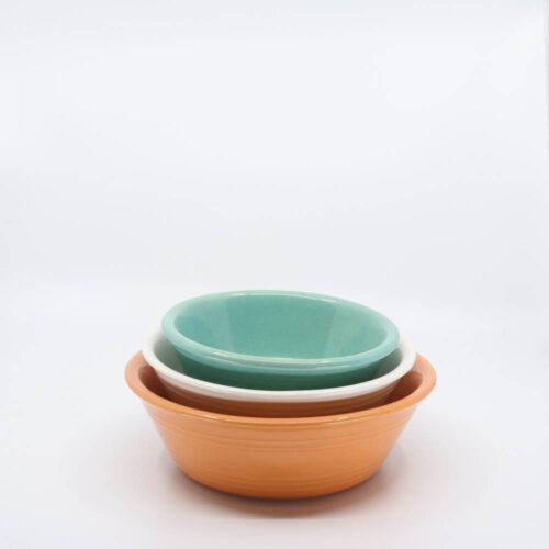 Pacific Pottery Hostessware 212-213-214 Pudding Dish Multi