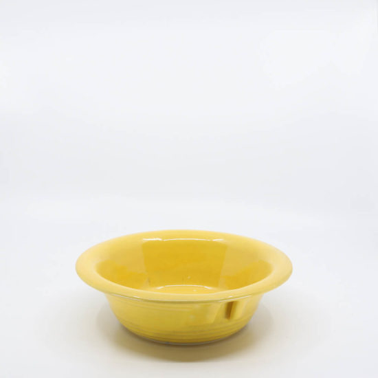 "Pacific Pottery Hostessware 223 7"" Baker Yellow"