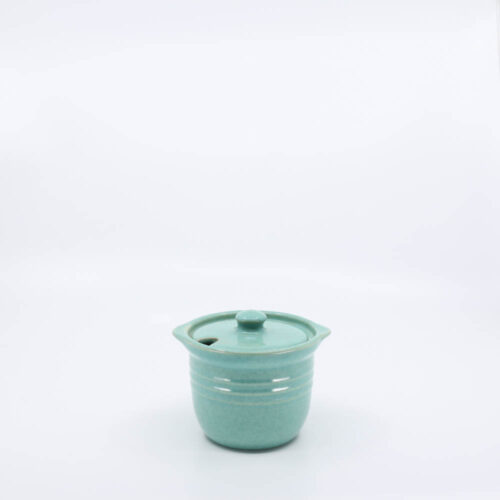 Pacific Pottery Hostessware 306 Condiment Jar Green