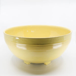 Pacific Pottery Hostessware 312 Punch Bowl Yellow Early