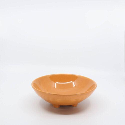 Pacific Pottery Hostessware 315 Pretzel Bowl Apricot