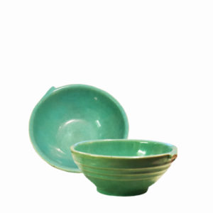 Pacific Pottery Hostessware 38 Ind Bowl Green