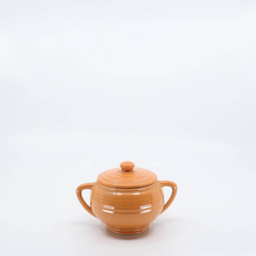 Pacific Pottery Hostessware 403 Sugar Apricot